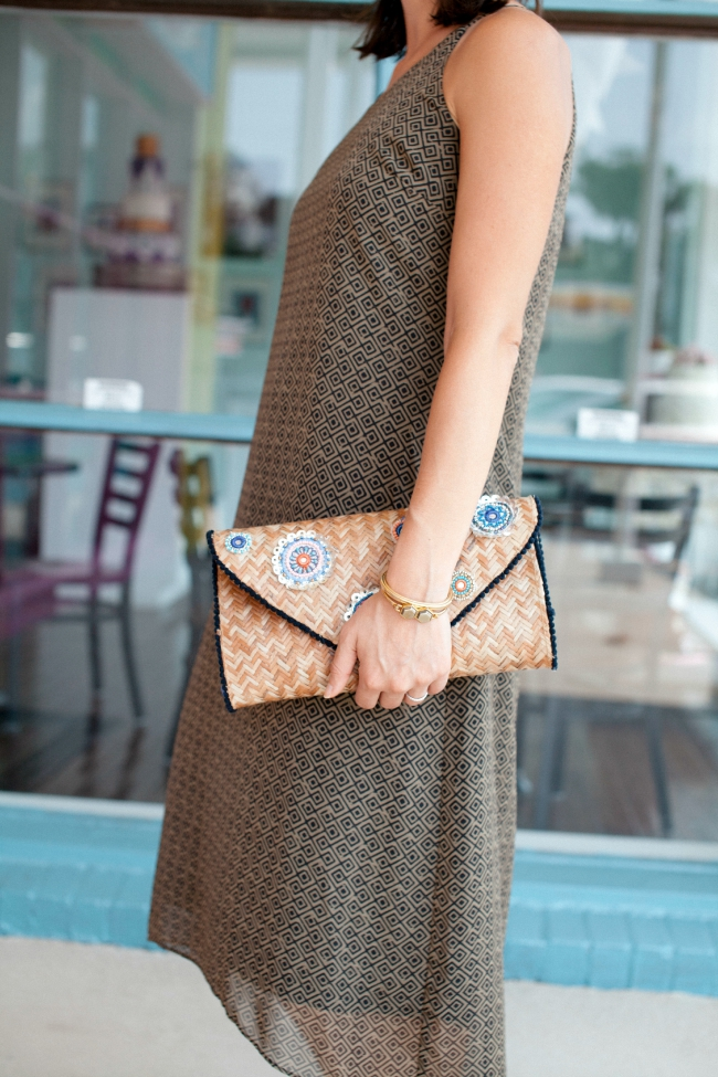 Summer clutch, wood clutch