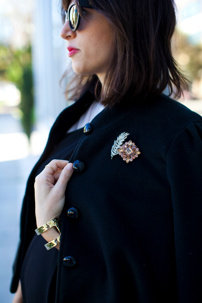 Brooches, How to wear a brooch, ASOS brooch