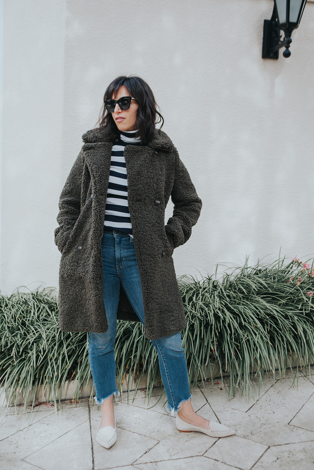 pretty sherpa coat