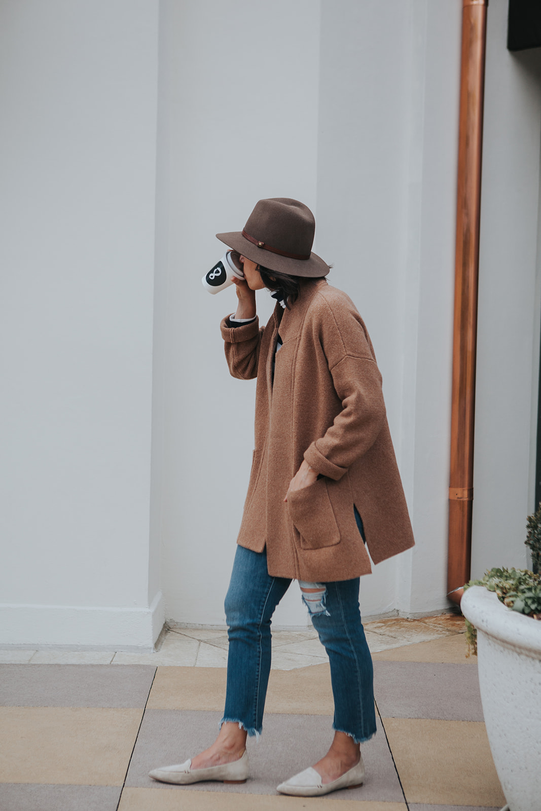 Madewell sweater coat