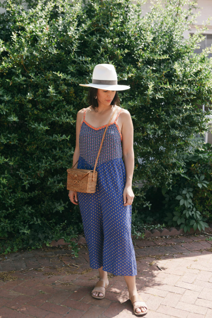 Anthropologie Jumpsuit print